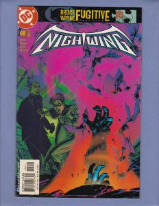 Nightwing #69 NM-/NM Front/Back Cover Scans DC 2002