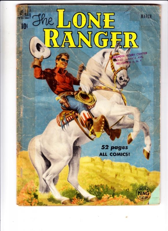Lone Ranger, The #21 (Mar-50) VG+ Affordable-Grade The Lone Ranger, Tonto, Si...