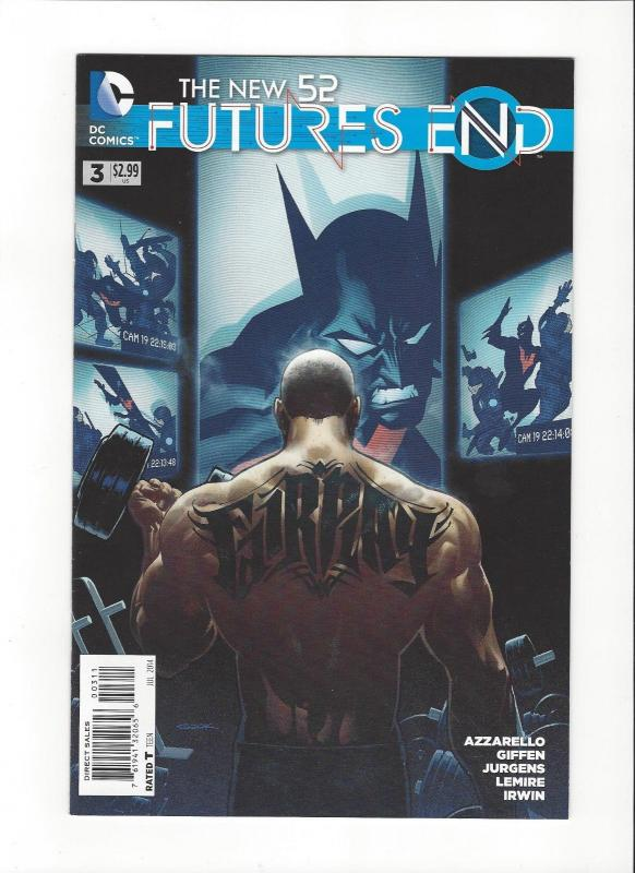 NEW 52 FUTURES END (2014 DC) #3 NM-