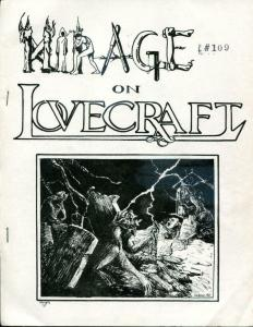 MIRAGE ON LOVECRAFT, H P, #109/200, VF, 1965, rare, Softcover, LTD, Chalker