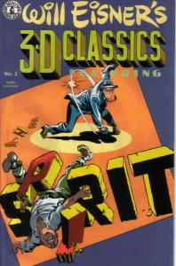 Will Eisner's 3-D Classics: Spirit #1 FN; Kitchen Sink | save on shipping - deta