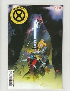 Powers of X #3 (2019 Marvel) 1st Print Secret Variant Nightcrawler Magik NM