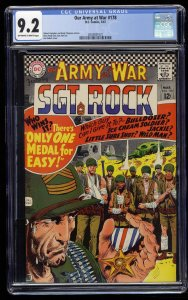 Our Army at War #178 CGC NM- 9.2 Off White to White