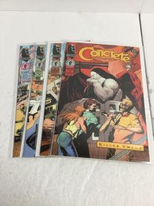 Concrete Killer Smile 1-4 Lot Set Run Nm Near Mint Dark Horse Comics IK