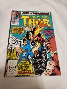 Thor 412 VF/NM 1st apperance of the New Warriors