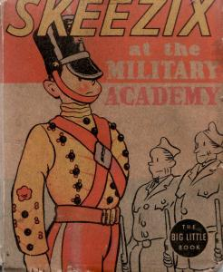 SKEEZIX-MILITARY ACADEMY-1938-BLB #1408-FRANK KING ART FR