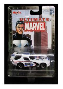 Ultimate Marvel Punisher Dodge Viper GTS Die-Cast Car #2 of 25 (Maisto, 2002)