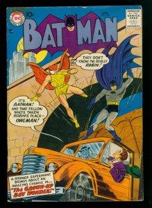 Batman #107 VG- 3.5