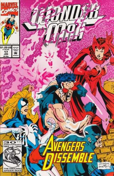 Wonder Man (1991 series) #17, NM + (Stock photo)