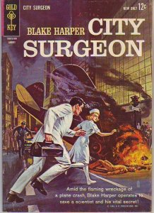 Blake Harper City Surgeon #1 (Aug-63) FN/VF Mid-High-Grade Ben Harper
