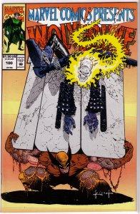 Marvel Comics Presents   vol. 1   #100 VF Wolverine/Ghost Rider, Sam Kieth