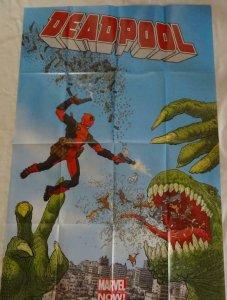 DEADPOOL Promo Poster, 24 x 36, 2012, MARVEL Geoff Darrow, Unused 265