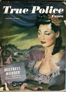 TRUE POLICE CASES-02/1949-BRIDES-SUICIDES-MISSIONARIES G