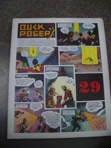 BUCK ROGERS #29-ITALIAN SUNDAY STRIP REPRINTS-CALKINS FN