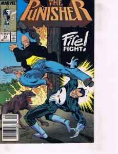 Lot Of 2 Marvel Comic Books The Punisher #23 and #28  ON2