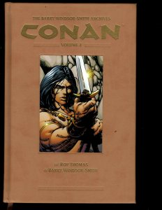 CONAN Barry Windsor-Smith Archives Vol. # 2 Dark Horse Comic Book HARDCOVER NP13