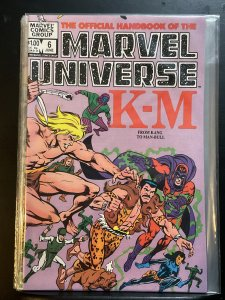 The Official Handbook of the Marvel Universe #6 (1983)