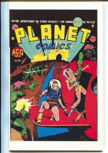 Planet Comics #1-ACG-reprint of Fiction House stories-1st issue-Flint Baker-VF/N