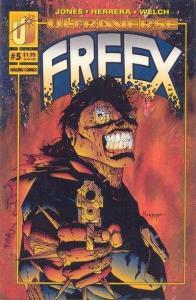 Freex #5, NM + (Stock photo)