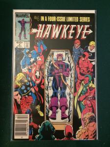 Hawkeye #4 of 4