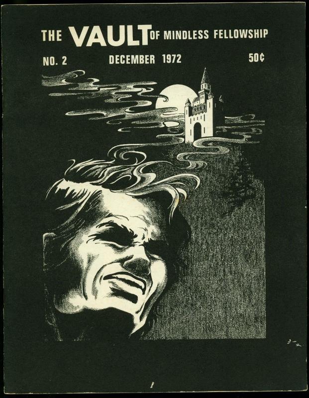The Vault of Mindless Fellowship #2 1972- Fanzine- Denis Kitchen- Eisner VG/F