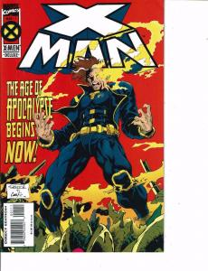 Lot Of 2 Marvel Comic Books Cable #20 and X Man #1 Thor  ON5