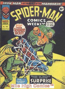 SPIDER-MAN WEEKLY  (#229-230) (UK MAG) (1973 Series) #108 Good
