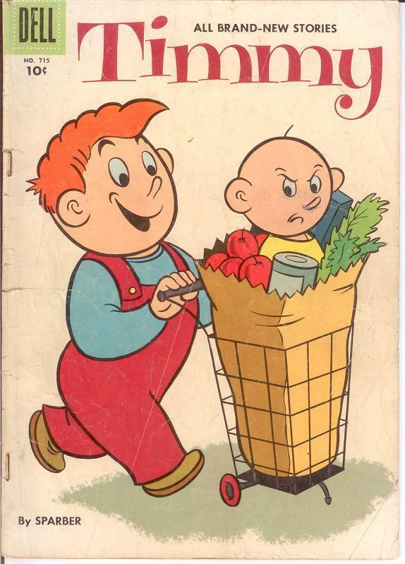 TIMMY F.C. 715 (August 1956) FAIR COMICS BOOK