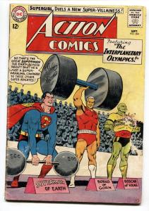 ACTION COMICS #304 1st BLACK FLAME comic book 1963-SUPERMAN-VG