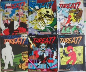 Threat! (Fantagraphics 1986) #1-10 Complete BW Indie Comix Anthology Bob Enigma+