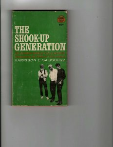 4 Books The Shook-Up Generation Somewhere Between Savage Delinquents + JK10