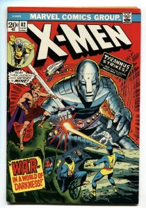 X-MEN #82 1972  COMIC BOOK-Marvel Bronze-Age VF-