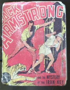 Jack Armstrong and the Mystery of The Iron Key #1432-1939-Big Little Book-P