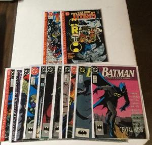 Batman 430 431 4e2 434 435 437 438 439 440 441 Teen Titans 60 61 Nm Near Mint