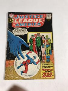 Justice League Of America 14 3.0 Gd/vg Food / Very Good Dc Silver Age