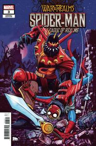 War Of The Realms Spider-Man & League Of Realms #3 Dalfonso Variant (2019) NM