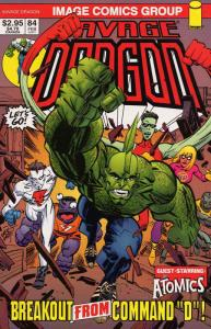Savage Dragon, The #84 FN; Image | save on shipping - details inside
