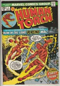Human Torch #1 (Sep-74) NM- High-Grade Human Torch