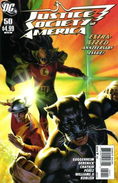 Justice Society of America (2007 series) #50, NM + (Stock photo)