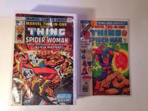 Marvel Two In One 27 Book FN+ Range 30-47 49 51-55 Annual 2 3 4 Thanos