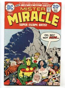 Mister Miracle #18 1974- DC Barda marries Mister Miracle VF