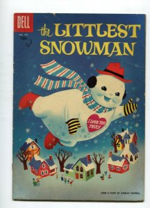 Dell Four Color 755 VG- The Littlest Snowman