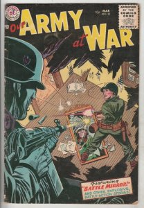Our Army at War #32 (Mar-55) VG/FN+ Mid-Grade