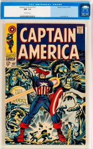 Captain America #107 CGC Graded 9.2