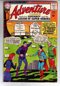 Adventure Comics #331 (Apr-65) FN Mid-Grade Legion of Super-Heroes, Superboy