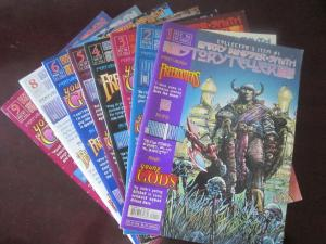 Storyteller #1-9 missing #7 average VF 1996 + 1997