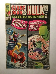 Tales To Astonish 64 Good Gd 2.0 Water Damage Marvel