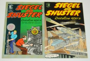 Siegel and Shuster #1-2 complete series unpublished work by superman's creators