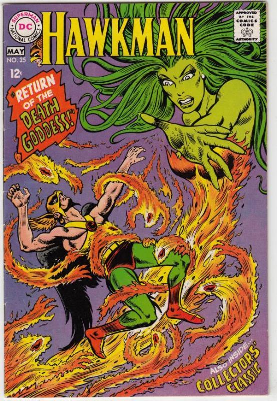 Hawkman #25 (May-68) NM- High-Grade Hawkman