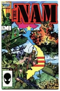 The 'Nam #1 1985 Marvel First issue NM-